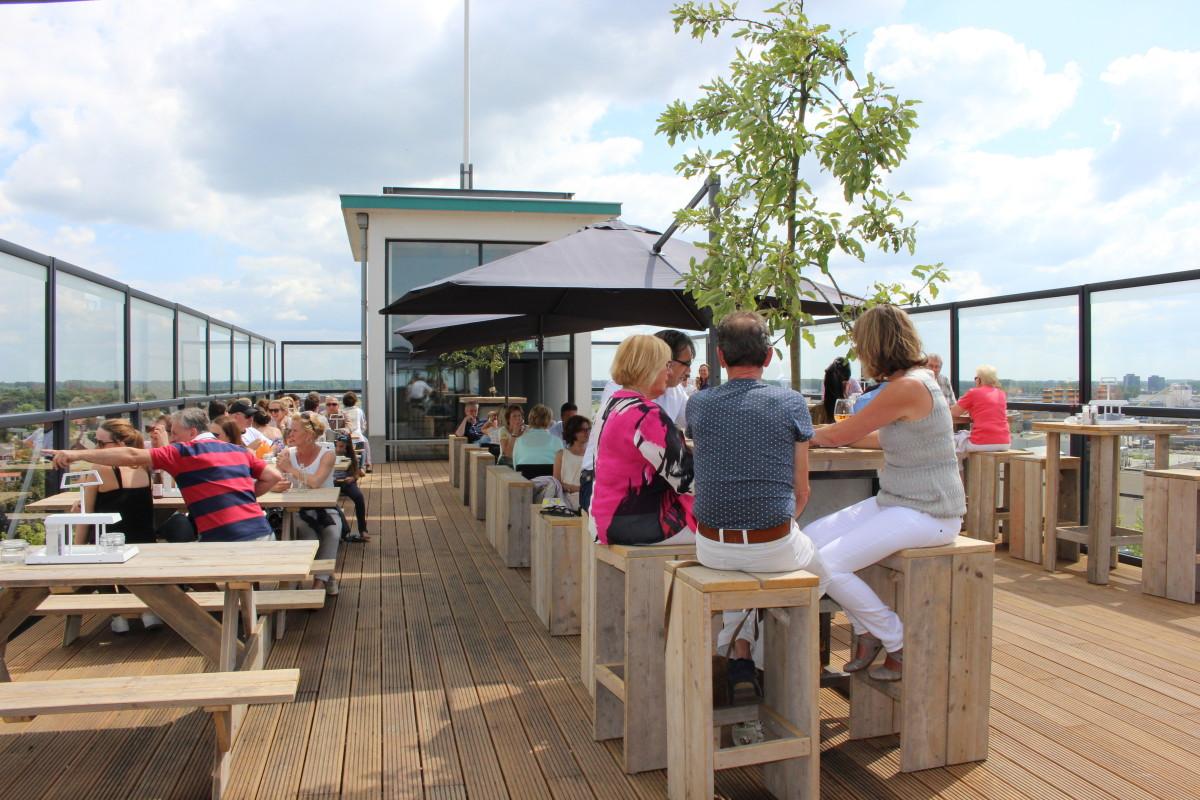 P 39 rooftop dakterras p 39 rooflokaal chv noordkade veghel - Dakterras restaurant ...